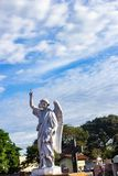 Ангел и небо стоковое фото rf