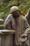 ангел оплакивая стоковые изображения rf