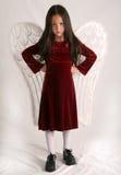 ангел сердитый Стоковое фото RF