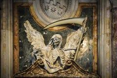 Ангел смерти Скульптура в базилике Сан Pietro в Vincoli стоковое фото rf