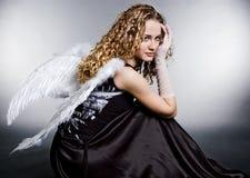 ангел унылый стоковое изображение
