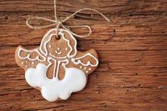 Ангел Gingerbread Стоковое Фото