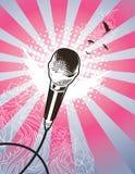 ангел mic Стоковое фото RF