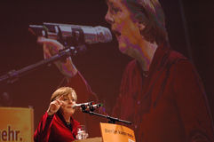 Ангела Меркель Стоковые Изображения