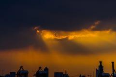Ангел в небе Стоковое фото RF