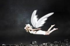 Ангеликовая красивая женщина стоковые фото