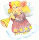 Ангел музыканта Стоковая Фотография RF
