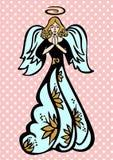 Ангел радетеля иллюстрация штока