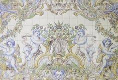 Ангелы в плитке Стоковое Фото