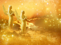 Ангелы Солнця Стоковые Фото