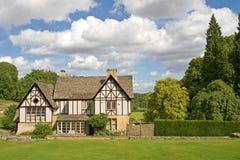 английская дом сада Стоковые Фото