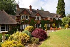 английская дом сельская Стоковая Фотография