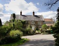 английская дом сельская Стоковое Изображение RF