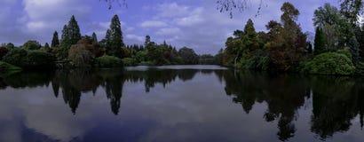 Английская осень в западном Сассекс, Великобритания Стоковое Изображение