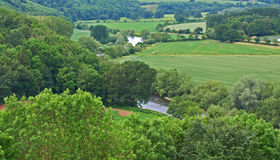 Английская сельская местность стоковое изображение