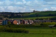 Английская сельская местность Стоковые Изображения RF