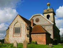 Английская церковь села Стоковое Изображение