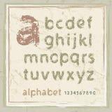 английская язык алфавита Стоковые Изображения RF