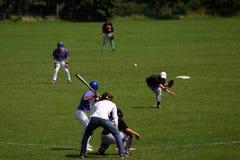 английская язык бейсбола Стоковое Изображение RF