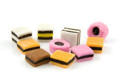 английская язык конфеты цветастая Стоковые Фотографии RF