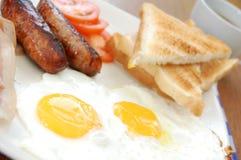 английская язык сваренная завтраком Стоковое Изображение