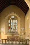 английская язык церков 13th столетия Стоковые Изображения RF
