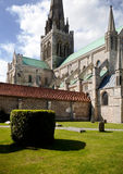 английская язык церков chichester собора Стоковое фото RF