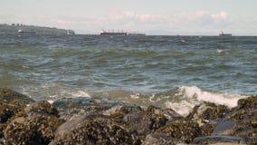 Английские волны залива, Ванкувер 4K UHD сток-видео