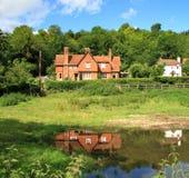 английские дома сельские Стоковые Изображения