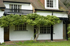 английские дома Стоковая Фотография RF