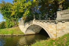 Английские земли wolfsbridge Woerlitz Стоковое Фото
