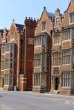 английские исторические дома Стоковое фото RF