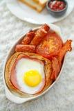Английский завтрак стоковое изображение
