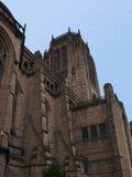 английский собор liverpool стоковое изображение rf