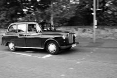 английский таксомотор Стоковые Фотографии RF