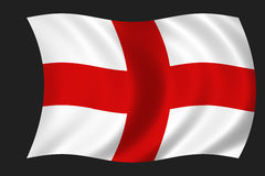 английский флаг Стоковая Фотография