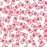 Английский фунт замечает безшовную картину иллюстрация штока