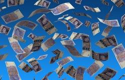 Английский фунт летая иллюстрация вектора