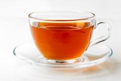 Английский черный чай изолированный на белой предпосылке Стоковое фото RF