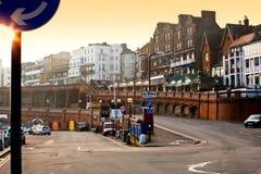 Английское зодчество города Стоковое фото RF