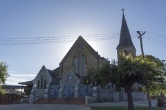 Англиканская церковь евангелиста St. John †Wagga Wagga « Стоковая Фотография RF