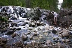 англичанин каскада падает рисуночное река стоковое фото