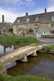Англия, Cotswolds, более низкий убой стоковая фотография rf