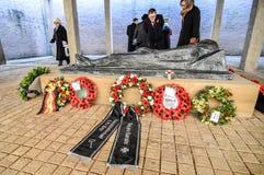 Англо-германское обслуживание день памяти погибших в первую и вторую мировые войны Стоковые Изображения RF