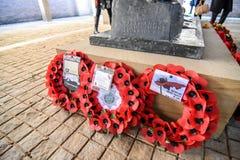 Англо-германское обслуживание день памяти погибших в первую и вторую мировые войны Стоковое фото RF