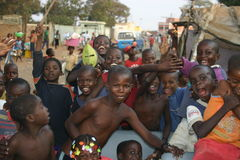 ангольские малыши Стоковое Фото