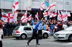 Английская лига обороны Стоковое Изображение