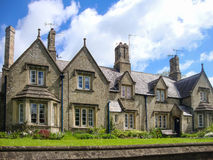 английская дом старая Стоковые Изображения