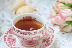 Английская партия чая Стоковые Фотографии RF