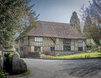 Английская половина Timbered дом Стоковое Фото